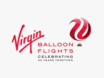 Virgin balloon Flights Branding